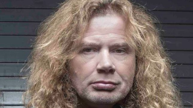 MEGADETH Frontman DAVE MUSTAINE Issues Statement Regarding Cancelled SCORPIONS Tour
