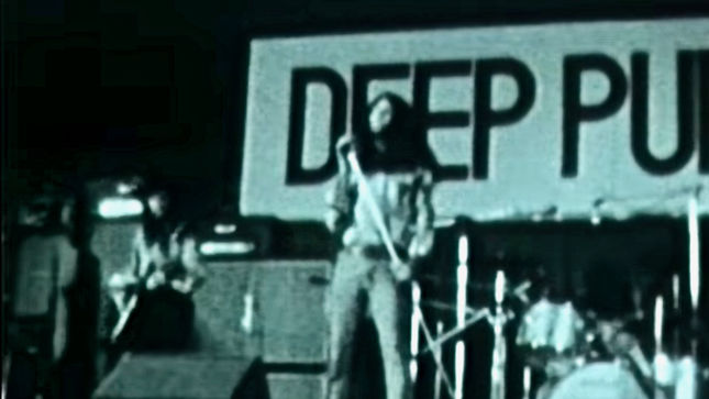 DEEP PURPLE Live In Tokyo 1972 - Rare 8mm Performance Video Surfaces