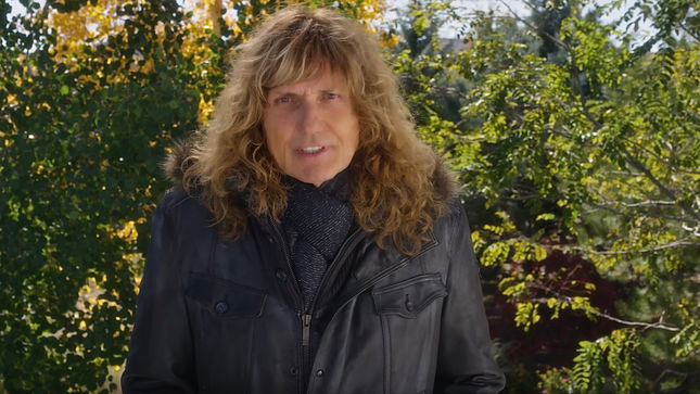 "DAVID COVERDALE Celebrates 30th Anniversary Of WHITESNAKE's ""Here I Go Again"" Topping Billboard Charts; Video"