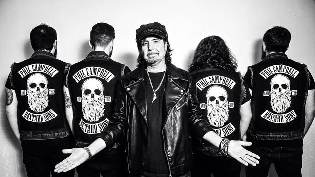 "MOTÖRHEAD Guitarist's PHIL CAMPBELL AND THE BASTARD SONS Release ""Ringleader"" Lyric Video"