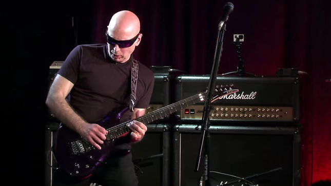 JOE SATRIANI Reveals Guitarists Who Turned Down G3 Tour; Live Facebook Video Chat Available