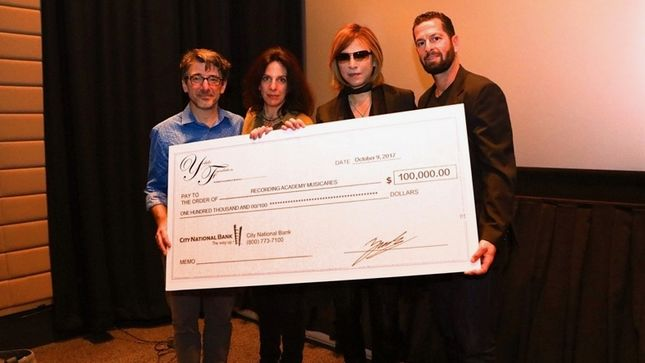 X JAPAN Leader YOSHIKI Donates $100,000 To Help Displaced Hurricane Victims