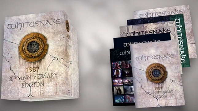 WHITESNAKE - Unboxing Video Of 30th Anniversary Super Deluxe 1987 Set