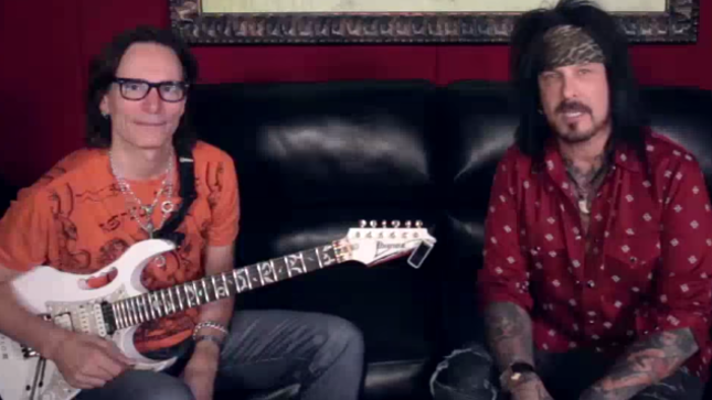 NIKKI SIXX Releases My Favorite Riff, Deeper With STEVE VAI Episodes
