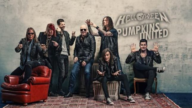 "HELLOWEEN Release New Single ""Pumpkins United"" For Free Download; Official Lyric Video Posted"