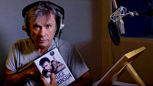 IRON MAIDEN Singer BRUCE DICKINSON Reads From What Does This Button Do? Book; Video