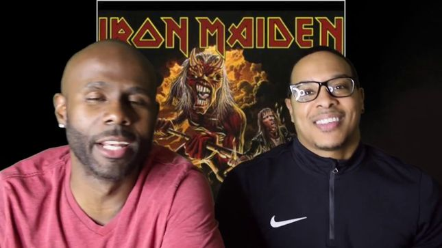 IRON MAIDEN - Lost In Vegas Reacts To