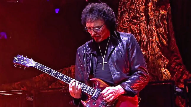 "TONY IOMMI On Guitars He Used In BLACK SABBATH – ""I Would Have Used The Les Paul If I Hadn't Cut My Fingers Off"""
