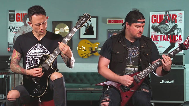 "TRIVIUM - ""The Sin And The Sentence"" Guitar Playthrough Video Streaming"