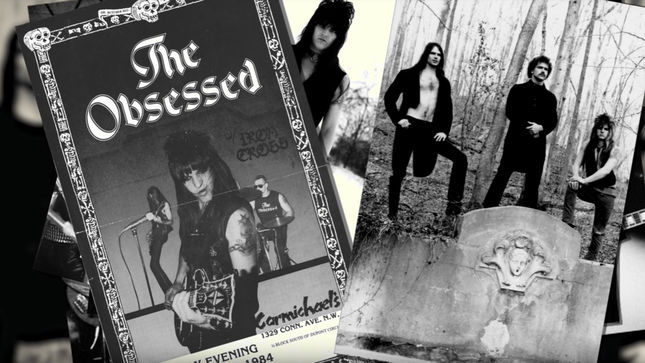 "THE OBSESSED Streaming ""Mental Kingdom"" Bonus Track From Debut Album Reissue"
