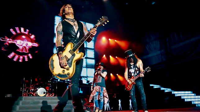 Guns N Roses Not In This Lifetime North American Summer