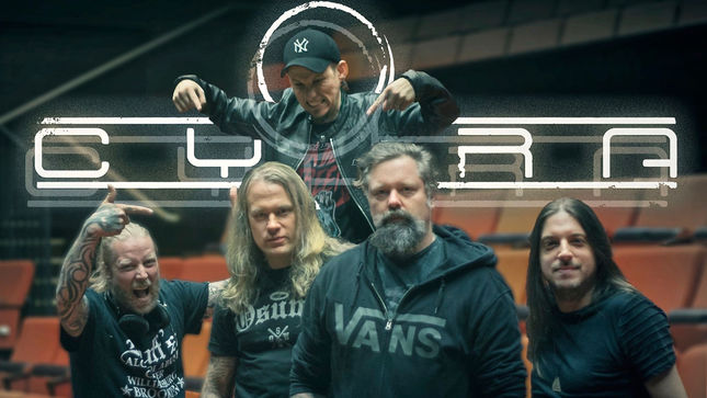 CYHRA Featuring Former IN FLAMES, AMARANTHE Members Post Live Rehearsal Footage