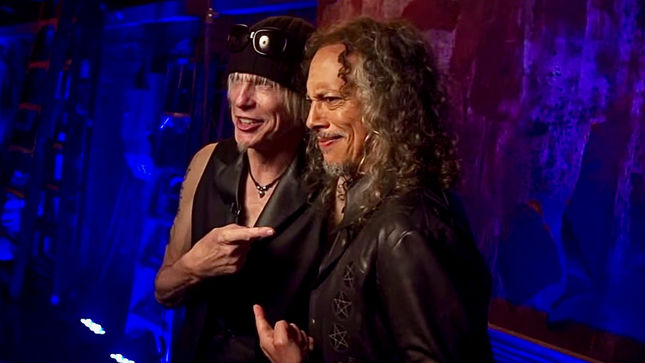 "METALLICA Guitarist KIRK HAMMETT To Appear On New MICHAEL SCHENKER FEST Album - ""He Has Become A Friend,"" Says Schenker"