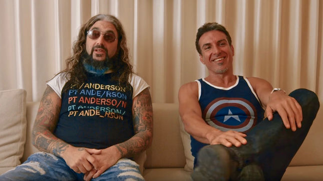 "SONS OF APOLLO / Former DREAM THEATER Bandmates MIKE PORTNOY And DEREK SHERINIAN Discuss Musical Relationship - ""We're Just As Immature As Ever""; Video"