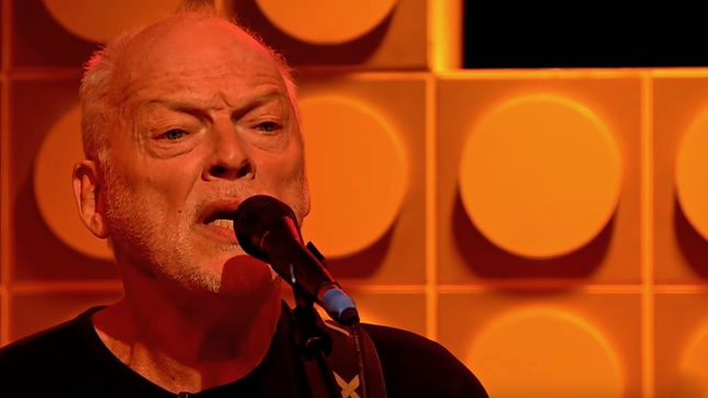 "DAVID GILMOUR Guests On BBC's Front Row Program; Video Interview, ""A Boat Lies Waiting"" Performance Streaming"