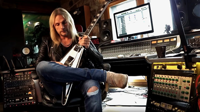 JUDAS PRIEST Guitarist RICHIE FAULKNER Unveils New Epiphone Signature Guitar; Video