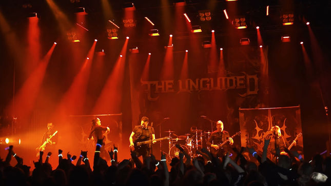 "THE UNGUIDED Release ""Blodbad"" Live Video"