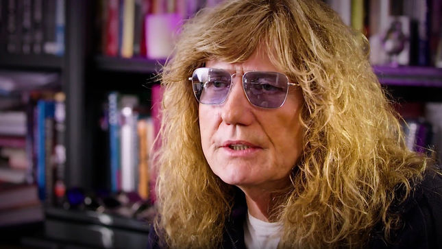 "WHITESNAKE Singer DAVID COVERDALE On Classic Track ""Give Me All Your Love"" - ""Whether They're Chest-Beating Tarzan Performances Or Whispered Intimacies, They're All Love Songs""; Video"