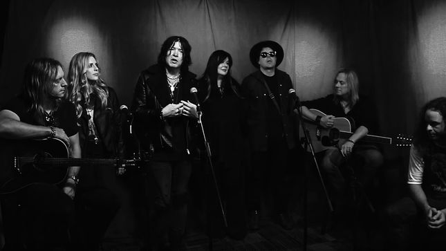 "TOM KEIFER Performs ""With A Little Help From My Friends"" On Nights With ALICE COOPER; Video"