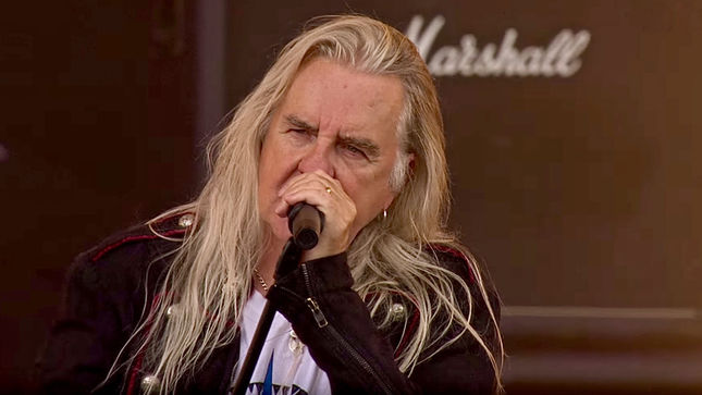 SAXON Release Unboxing Video For Decade Of The Eagle Deluxe Anthology; BIFF BYFORD Discusses First London Headline Show, 80s Set Lists, Working With ELTON JOHN (Videos)