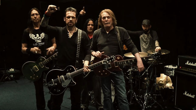 "BLACK STAR RIDERS - ""Europe, We're Comin' For Ya!""; Video"