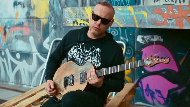 "CATTLE DECAPITATION Release Guitar Playthrough Video For ""Circo Inhumanitas"""