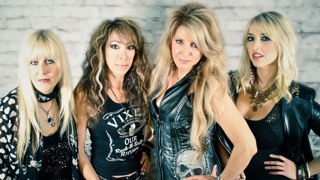 "VIXEN Guitarist BRITT LIGHTNING - ""We've Recorded A New Single, As Well As An Acoustic Version Of One Of The Classic Hits"""