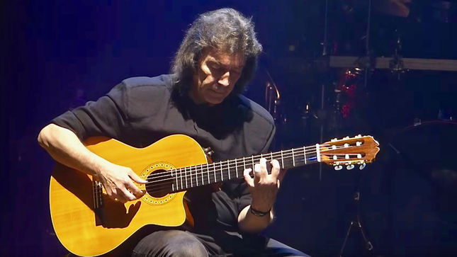 GENESIS Guitar Legend STEVE HACKETT Schedules January Release For Wuthering Nights: Live In Birmingham
