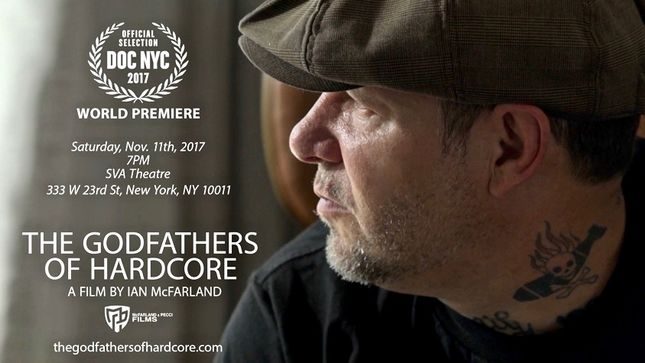 AGNOSTIC FRONT - World Premier Of The Godfathers Of Hardcore Documentary Scheduled For This Saturday At Doc NYC Festival; Video Trailer Streaming