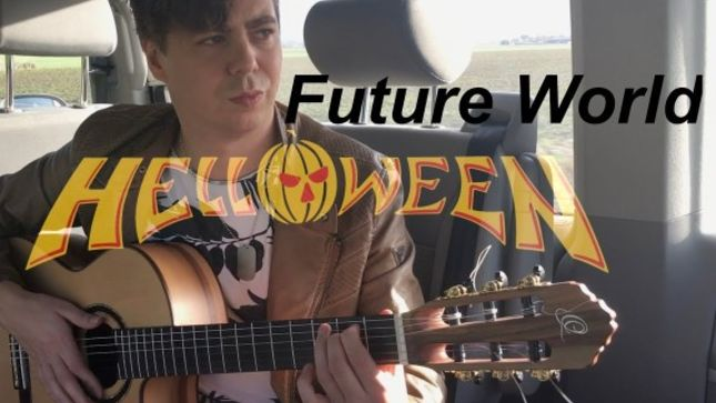 "THOMAS ZWIJSEN Covers HELLOWEEN Classic ""Future World""; Acoustic / Classical Fingerstyle Video Streaming"