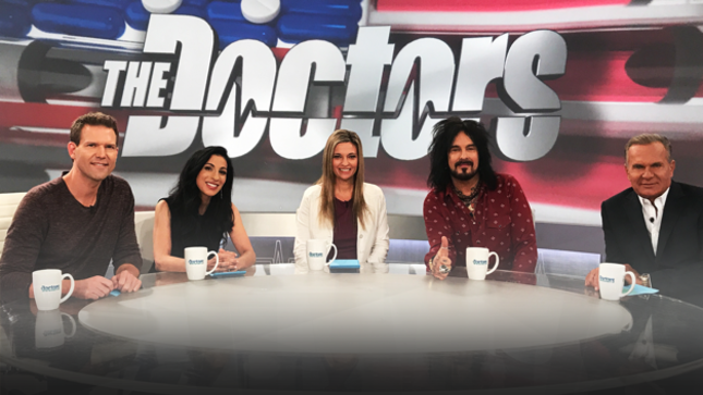 "Video Clips Of NIKKI SIXX On CBS' The Doctors - ""Recovery Is Not A Dirty Word"""