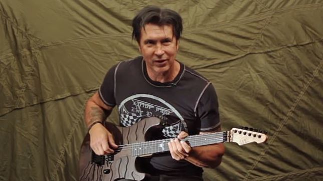 "GEORGE LYNCH - ""I Think Playing Drums Is What I Do Already In My Head In The Way I Approach The Guitar"""