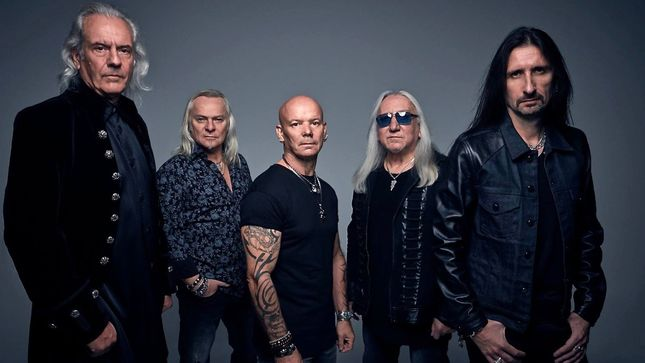 URIAH HEEP To Embark On 2018 North American Tour; Pledge Campaign Launched For New Album, Living The Dream