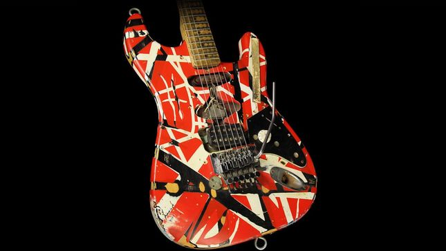 Update: Missing EDDIE VAN HALEN Guitar Returned By Good Samaritan