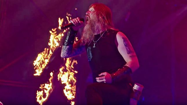 AMON AMARTH And Ride & Crash Games Launch New Viking Mobile Video Game In 80's Retro Style; Trailer Video Streaming