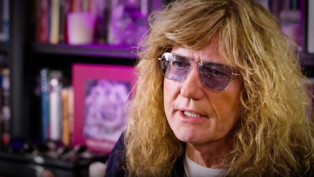 "DAVID COVERDALE On WHITESNAKE Song ""You're Gonna Break My Heart Again"" - ""Another Song Documenting My First Marriage... The Dying Embers""; Track-By-Track Video"