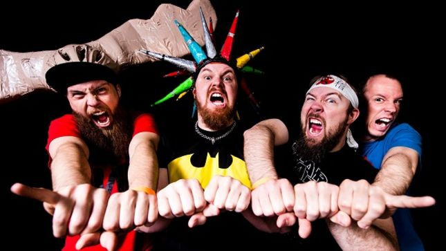 "PSYCHOSTICK Posts SLIPKNOT Thanksgiving Parody Video ""Give Thanks Or Die"""