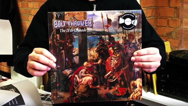 BOLT THROWER - Full Dynamic Range Vinyl Edition Of The IVth Crusade Album Due This Friday; Video Trailer Streaming