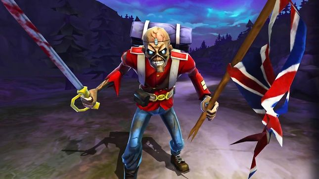 IRON MAIDEN: Legacy Of The Beast - First Look At Trooper Eddie; Video