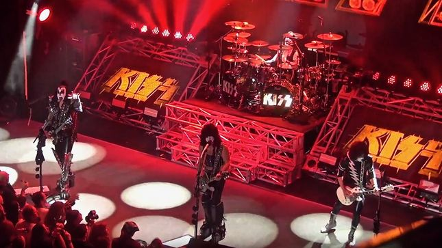 "KISS Perform Destroyer Album Classic ""Sweet Pain"" For First Time In Over 20 Years; Video"