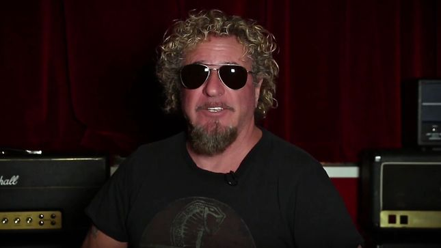 "SAMMY HAGAR - ""I Wanna Be The Oldest Living Rock Star On Earth Someday""; 2017 Year In Review Video Streaming"