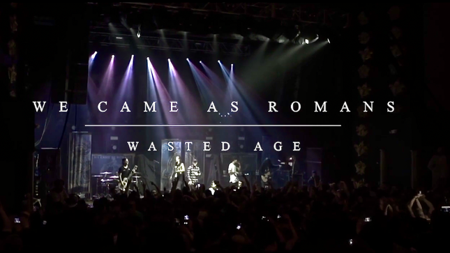 "WE CAME AS ROMANS Release ""Wasted Age"" Music Video"