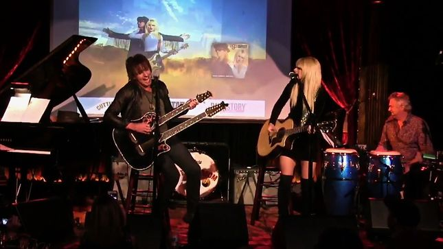 BackStory Presents: RICHIE SAMBORA And ORIANTHI Live From The Cutting Room; Full Stream Available