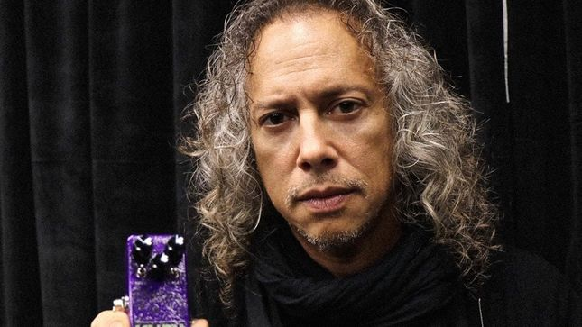 METALLICA - KHDK Electronics Introduces KIRK HAMMETT's New Signature Ghoul Jr Overdrive, A Micro Pedal With Power To Raise The Dead