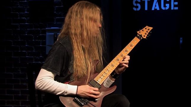 "ARCH ENEMY Guitarist JEFF LOOMIS Performs ""Jato Unit"" In EMGtv Hall Of Fame HD Re-Edit Series; Video"