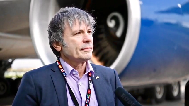 IRON MAIDEN Singer BRUCE DICKINSON Lining Up Multi-Million Pound Investment For Cardiff Aviation