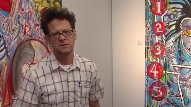 Video Preview Of Former METALLICA Bassist JASON NEWSTED's Florida Art Show / Sale