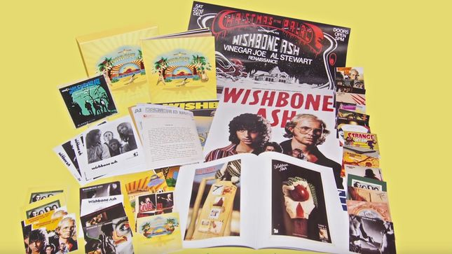 WISHBONE ASH To Release The Vintage Years (1970-1991) Limited Edition Deluxe 30 CD Box Set In April; Video Trailer