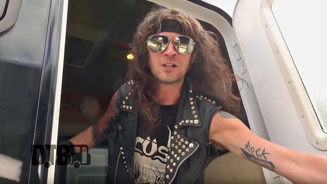 MUNICIPAL WASTE Featured In New Bus Invaders Episode; Video