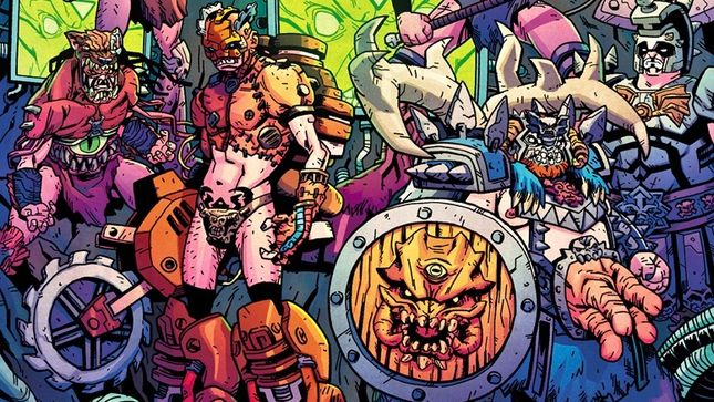 GWAR - Collected Edition Of Orgasmageddon Comic To Be Released On Trade Paperback